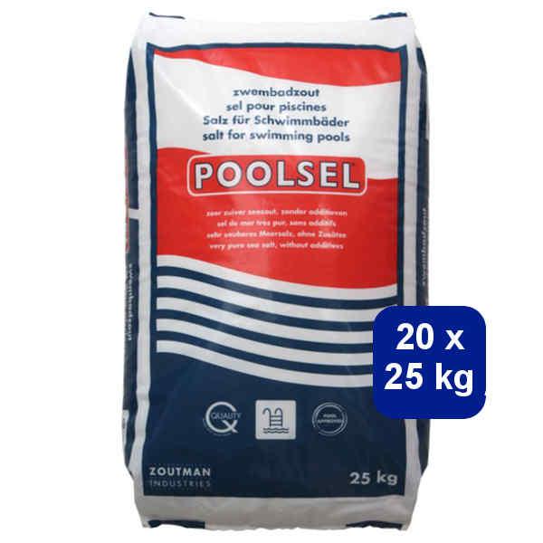 Poolsel 20 x 25 kg